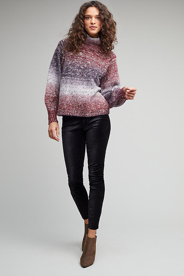 Slide View: 2: Pennie Ombre Roll Neck Jumper
