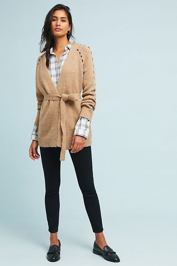 Slide View: 1: Civita Belted Cardigan