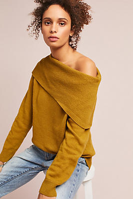 Slide View: 2: Miles Off-The-Shoulder Sweater