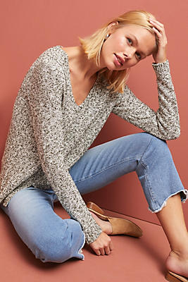 Slide View: 1: Merriam V-Neck Sweater