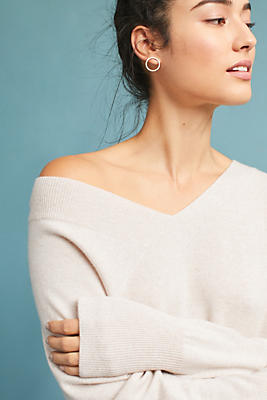Slide View: 1: Reed Cashmere Pullover