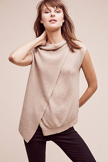 Asymmetrical Cashmere Pullover