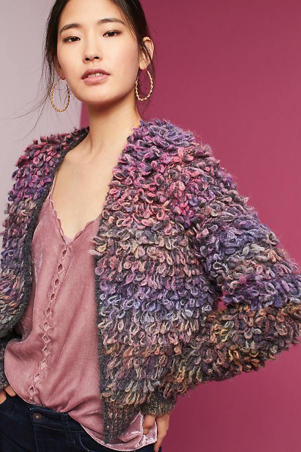Allegra Cardigan, Multicoloured - A/s, Size Xs