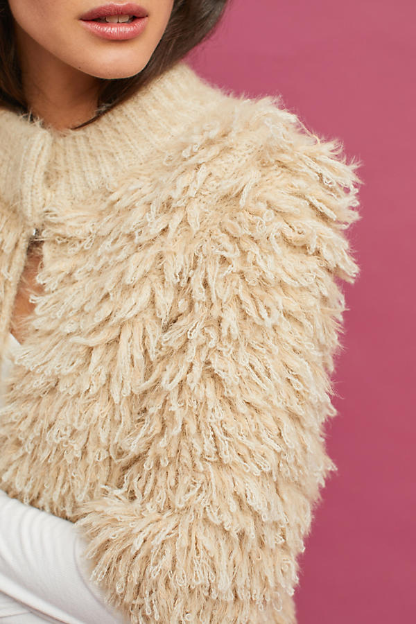 Slide View: 2: Talah Eyelash Cardigan