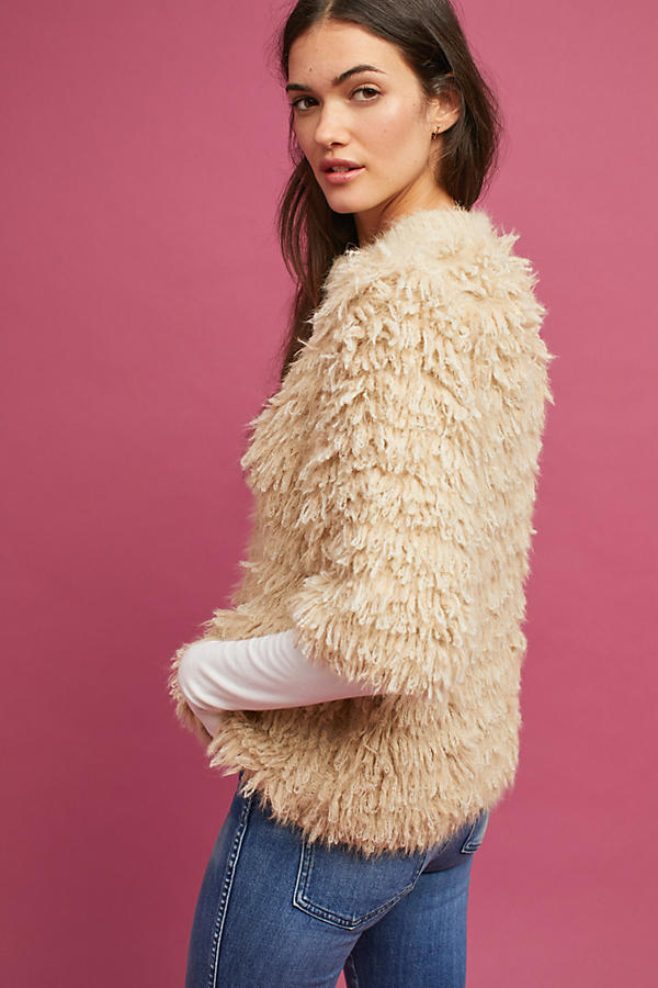 Slide View: 5: Talah Eyelash Cardigan