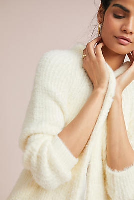 Slide View: 1: Simone Eyelash Cardigan