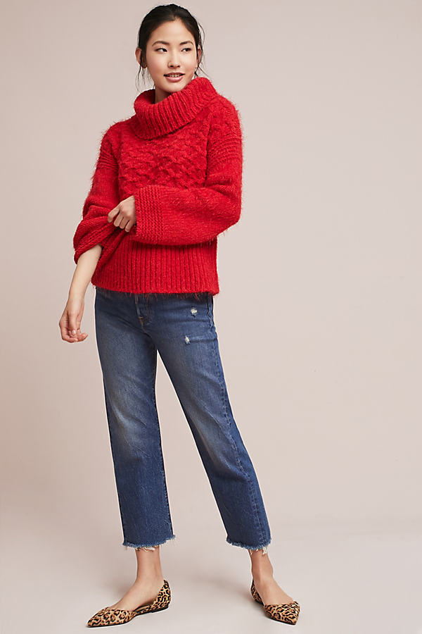 Torridon Jumper - Red, Size Xl