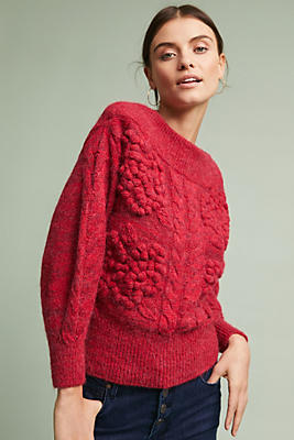 Slide View: 1: Holly Off-The-Shoulder Sweater