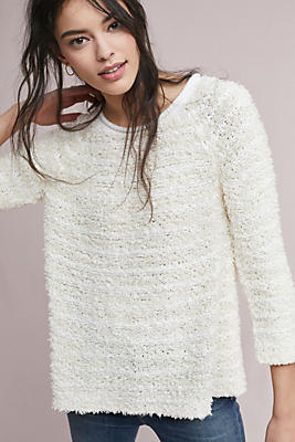 Slide View: 1: Jackie Textured Pullover