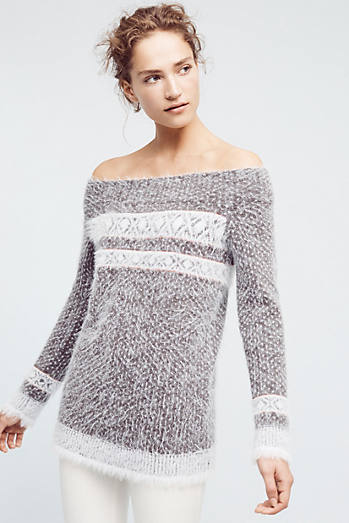 Faroe Off-The-Shoulder Sweater