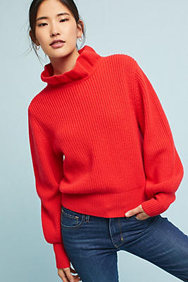 Slide View: 1: Claudette Wool Pullover
