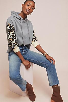 Slide View: 1: Leopard Hoodie