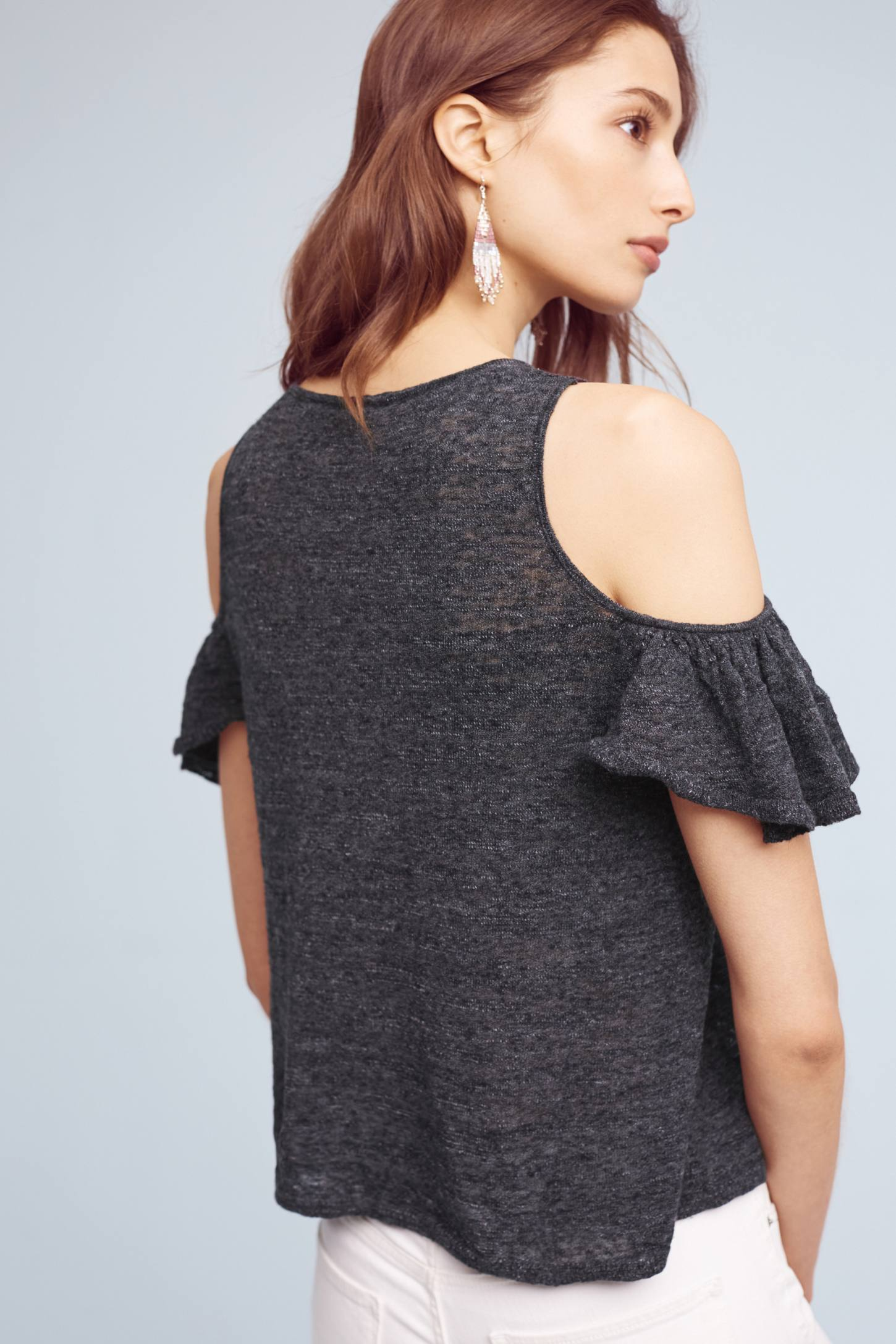 Slide View: 3: Arietta Open-Shoulder Top
