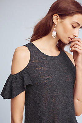 Slide View: 1: Arietta Open-Shoulder Top