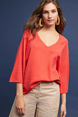 Slide View: 1: Eastward V-Neck Pullover