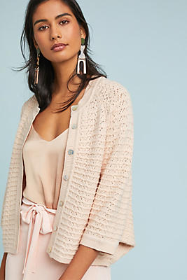 Slide View: 1: Paulette Pointelle Cardigan