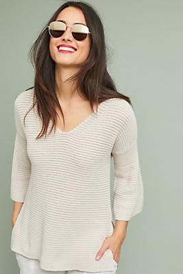 Slide View: 1: Michael Stars Bell-Sleeved Sweater