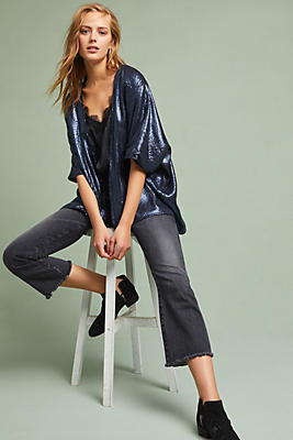 Slide View: 1: Corey Lynn Calter Sequined Cardigan