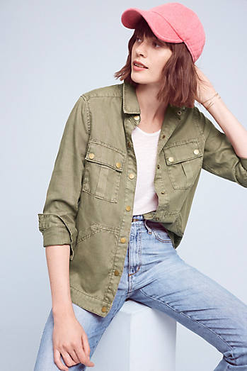 Level 99 Military Shirt Jacket