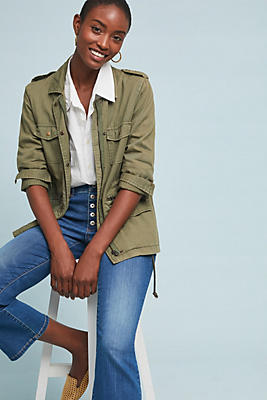 Slide View: 1: Ruby Army Jacket
