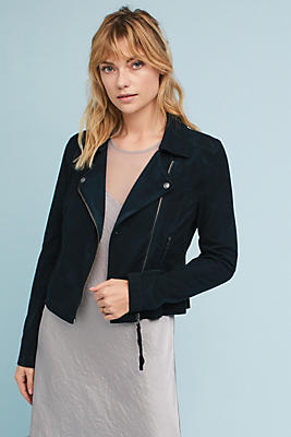 Slide View: 1: Freeway Knit Moto Jacket