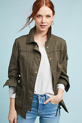 Slide View: 1: Morrison Twill Anorak