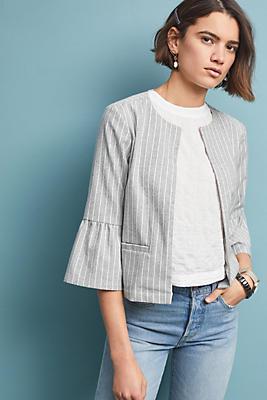 Slide View: 1: Susan Striped Jacket