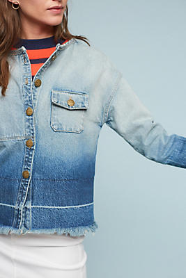 Slide View: 1: Current/Elliott Off Duty Denim Jacket