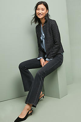 Slide View: 1: Tweed Peplum Jacket