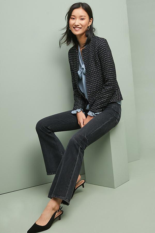Tweed Peplum Jacket - Assorted, Size Xl