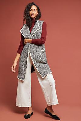 Slide View: 1: Tweed Vest
