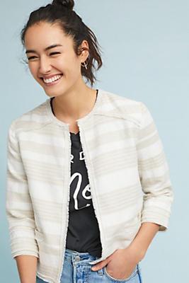 Slide View: 1: Joslyn Striped Jacket