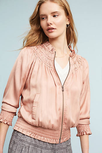 Alexe Embroidered Bomber