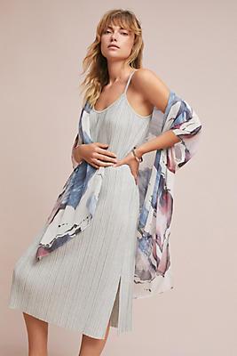 Slide View: 1: Wave Silk Kimono