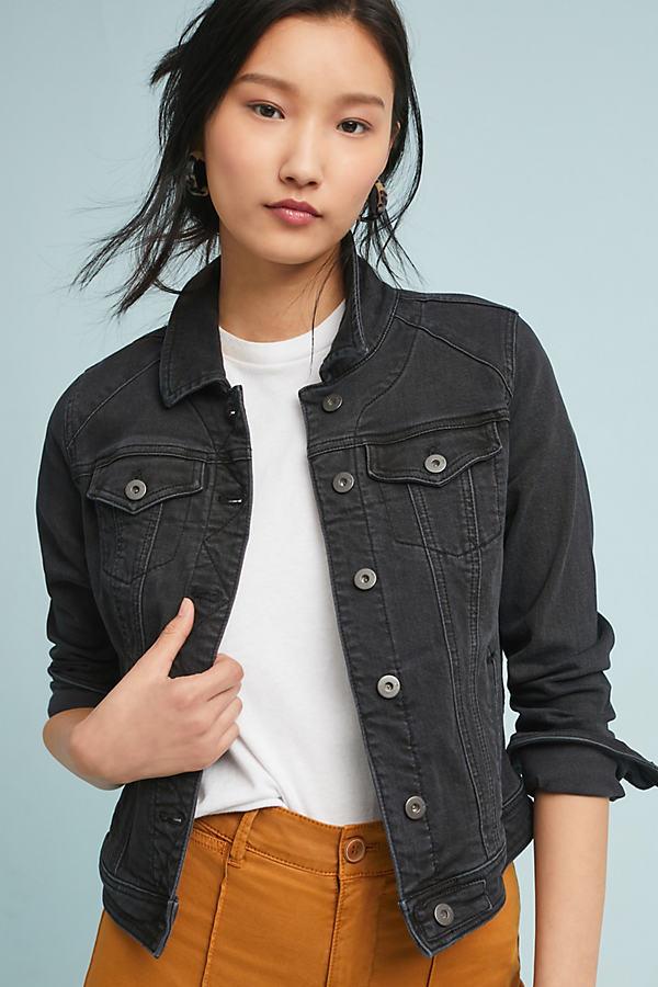 Pilcro Denim Jacket - Black, Size M