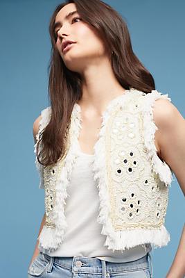 Slide View: 1: Marah Embellished Vest