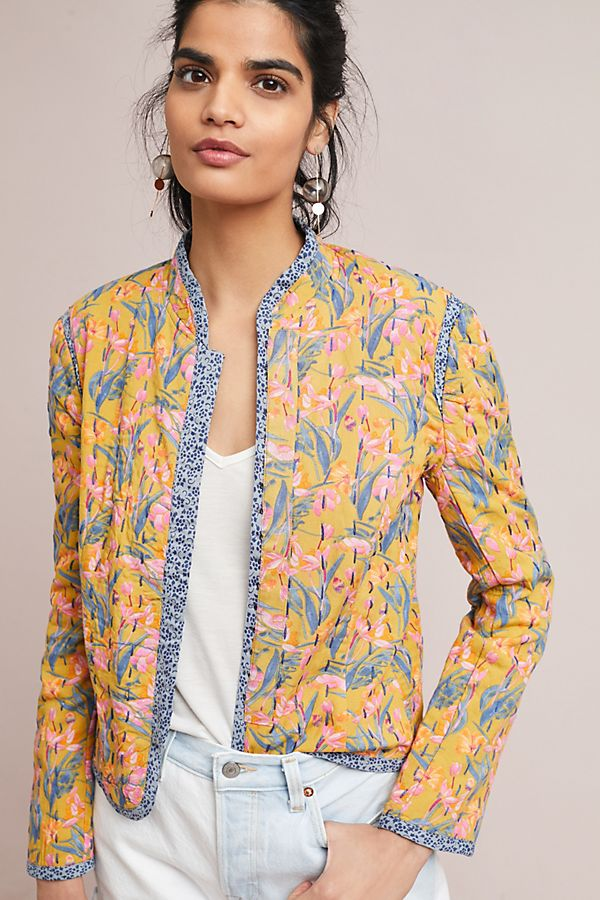 Slide View: 2: Waverly Quilted Jacket