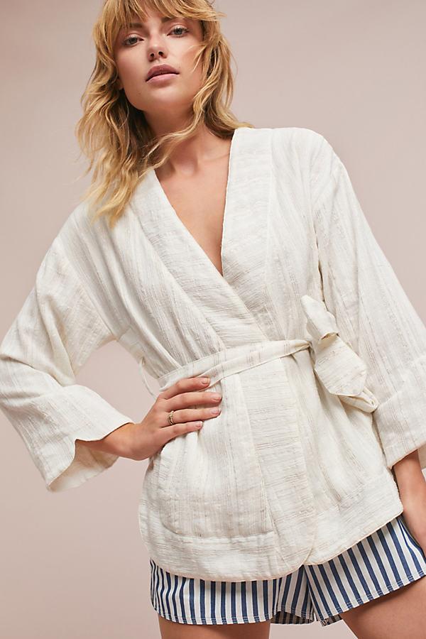 Cezar Kimono, White - Ivory, Size S