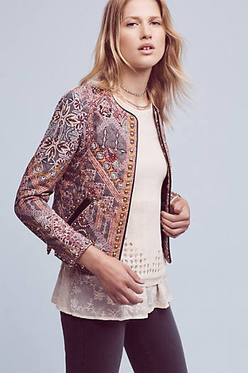 Studded Quilt Jacket