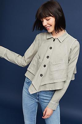 Slide View: 1: Renley Handkerchief Jacket
