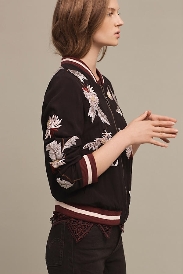 Embroidered Solstice Bomber
