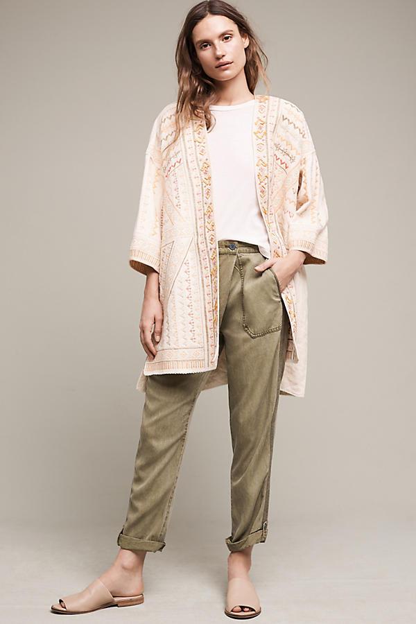 Paloma Embroidered Kimono Jacket | Anthropologie