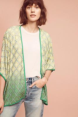 Slide View: 1: Mariel Embellished Kimono