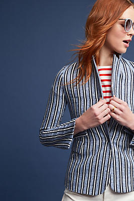 Slide View: 1: Yani Striped Blazer