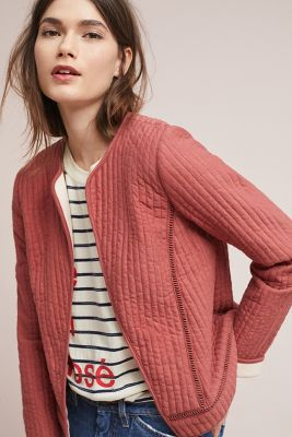 Akemi + Kin   Quilted Jacket  -    PINK