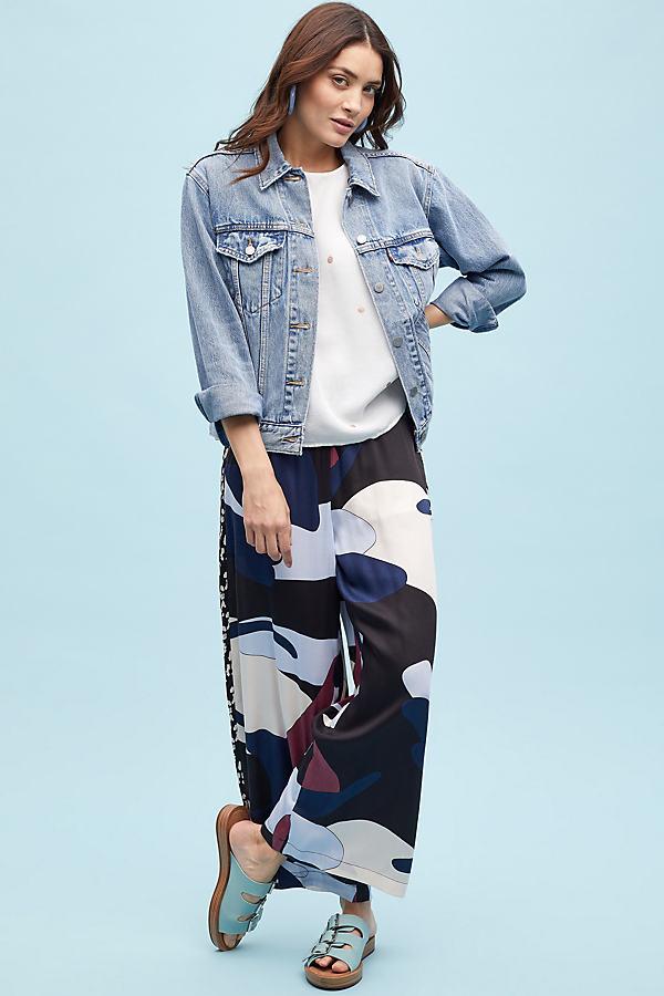 Levi's Boyfriend Denim Jacket - Blue, Size Xs