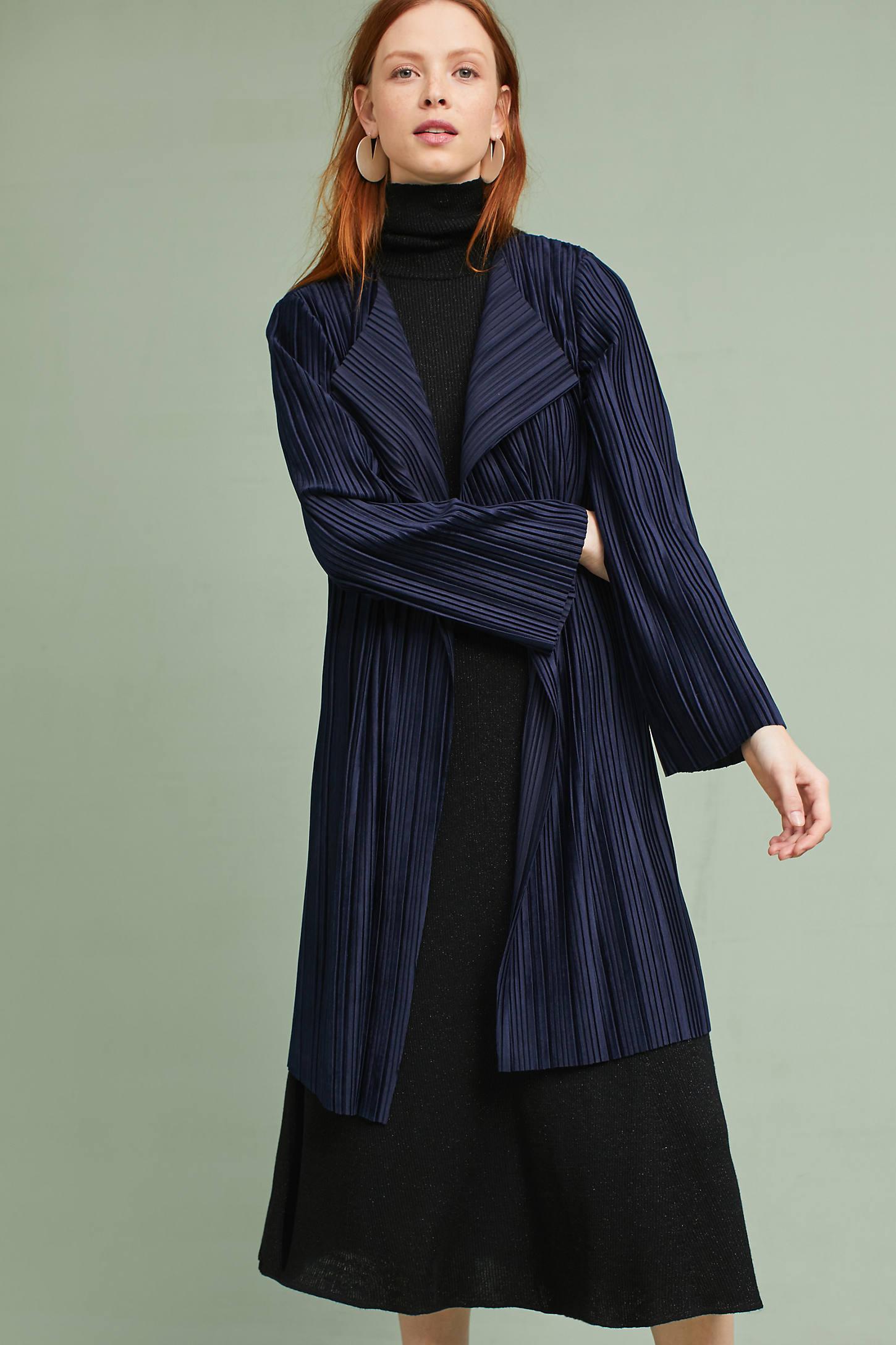 Textured Velvet Jacket