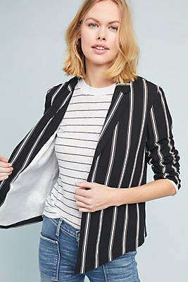 Slide View: 1: Marcela Striped Blazer