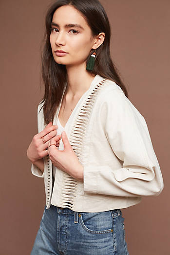 Cropped Ladder Jacket