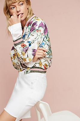 Rubie Floral Bomber